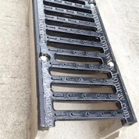 Large picture ductile iron drainage grating channel cover