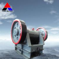 Large picture PE jaw crusher