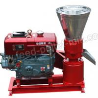 Large picture Diesel Flat Die Feed Pellet Mill