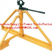 Foldable cable drum jacks