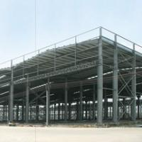 Large picture steel structure of warehouse
