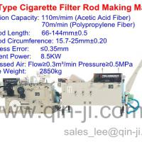 Large picture ZL21 type cigarette filter rod making machine