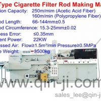 Large picture ZL31 type cigarette filter rod making machine