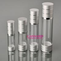 Large picture Silver airless lotion bottle