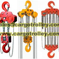 Large picture Chain pulley blocks lifting