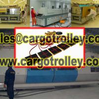 Large picture Air bearing transporters works on clean rooms