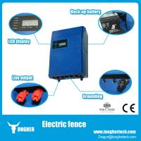 High voltage security electric fence energizer