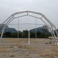 2014 New Style Octagonal Tent With Glass Wall