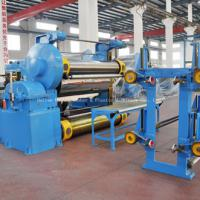 Rubber conveyer belt vulcanizer machine
