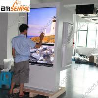 Waterproof outdoor kiosk with high brightness