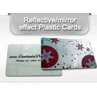 Plastic Mirror Surface Cards