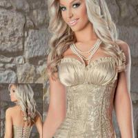 Large picture Embroidery Corset