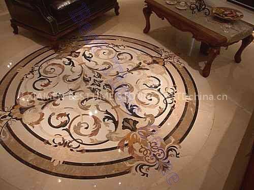 waterjet medallion floor tile china. Black Bedroom Furniture Sets. Home Design Ideas